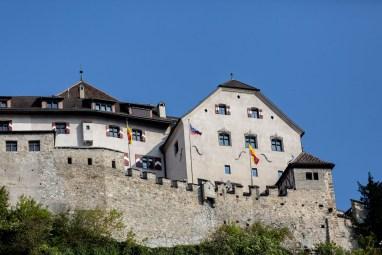 Liechtenstein road trip Vaduz royal castle