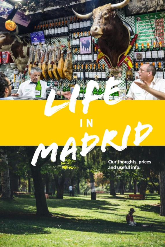 Life in Madrid - apartment, prices and useful info