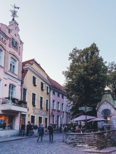 Life in Tallinn - Old Town streets