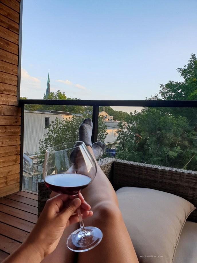 Life in Tallinn - balcony