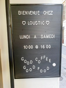 Loustic Marseille opening hours