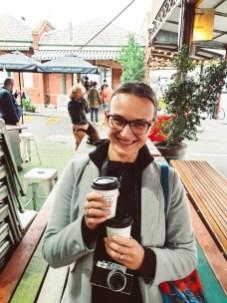 Melbourne between lockdowns market lane coffee