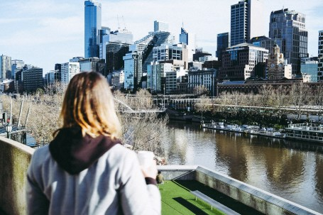 Melbourne between lockdowns