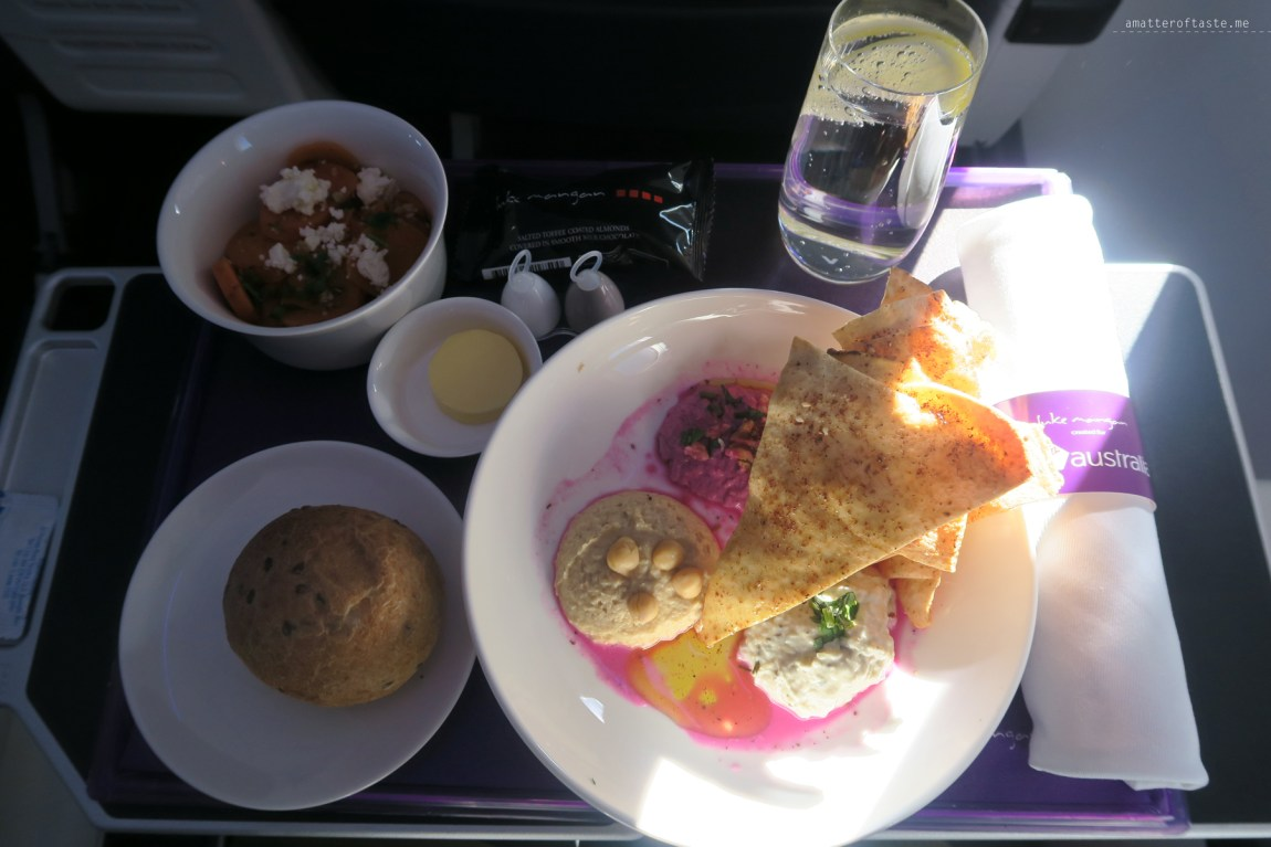 Melbourne-to-Adelaide-Virgin-business-flight-food