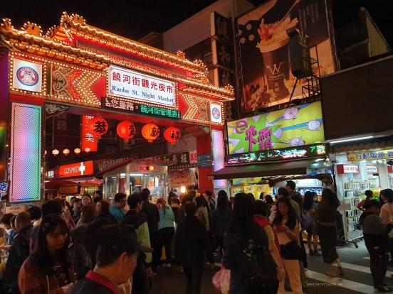 Night markets Taiwan Taipei