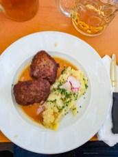 Oktoberfest Munich road trip Paulaner tent food