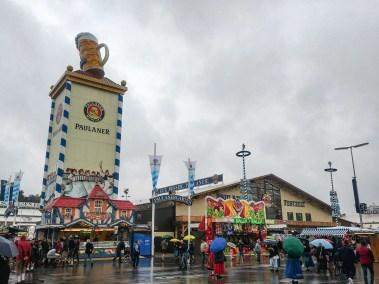 Oktoberfest Munich road trip Paulaner tent
