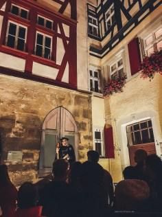 Rothenburg ob der Tauber germany Night Watchman Tour