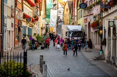 Rothenburg ob der Tauber germany crowds