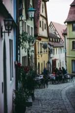 Rothenburg ob der Tauber houses