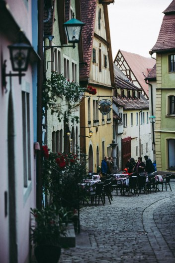 Rothenburg ob der Tauber houses