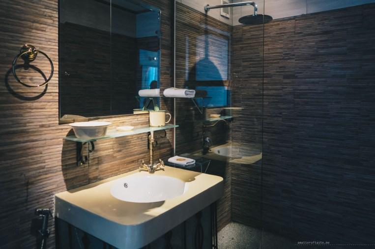 Sarang Paloh Heritage Stay Ipoh bathroom