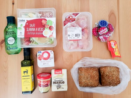 Shopping grocery Prague prices