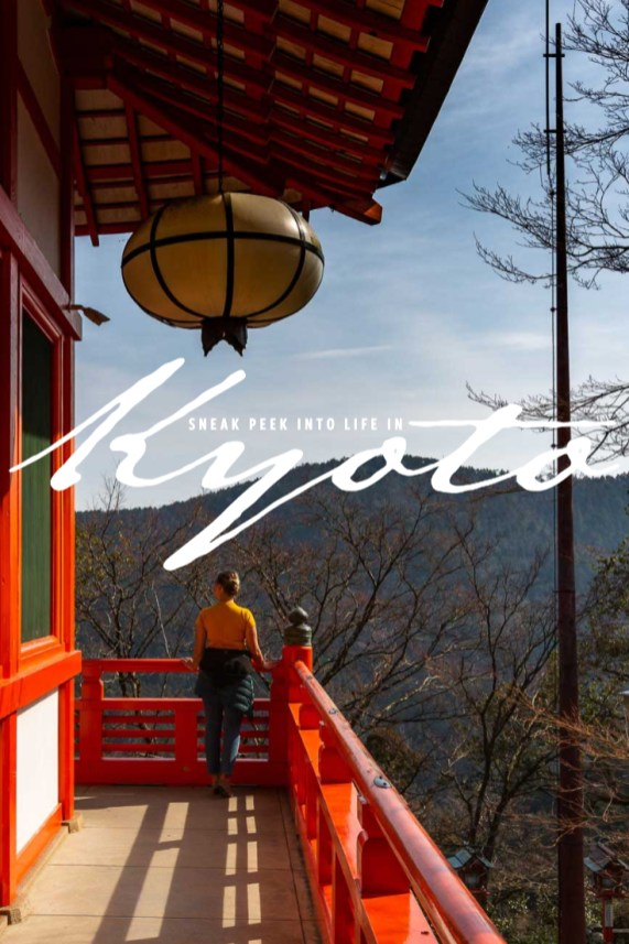 Sneak peek into life in Kyoto Japan