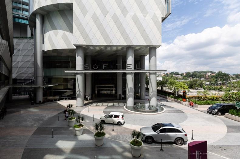 Sofitel Kuala Lumpur Damansara entrance