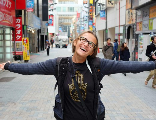 Tokyo Trip Diary - me being overjoyed with my first trip to Japan