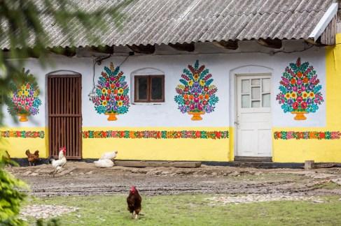 Zalipie-the most colourful village in Poland -10