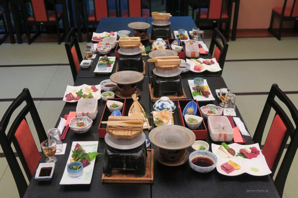 fujiya-ryokan-wakayama-kaiseki-dinner