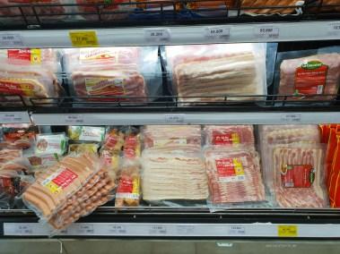 hcmc shopping supermarket bacon