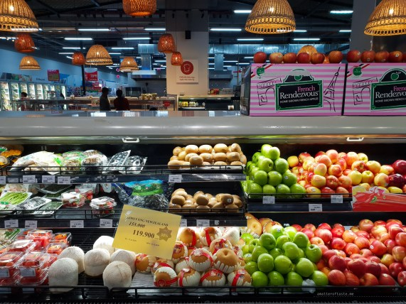 hcmc shopping supermarket fruit