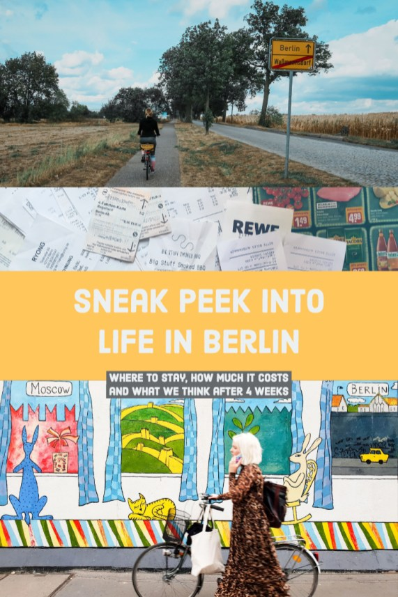 life in Berlin - where to stay, how much it costs and what we think after 4 weeks