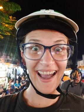 moto taxi saigon selfie