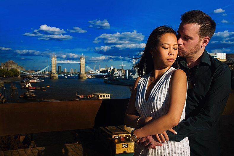 London Engagement Shoot Eisu-Marty_0007 Tower Bridge