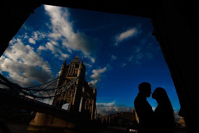 London Engagement Shoot Eisu-Marty_0011 Tower Bridge