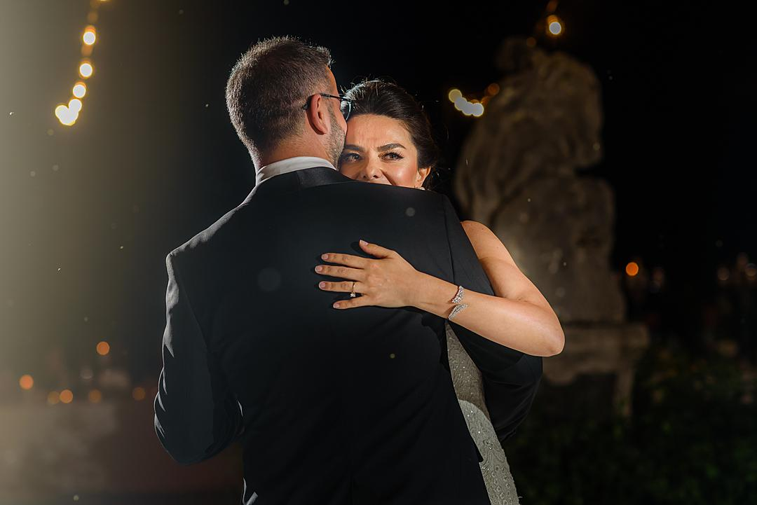 First Dance at Villa Pizzo Lake Como
