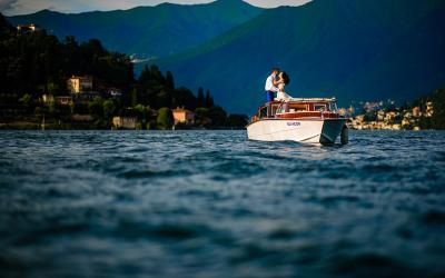 Lake Como Engagement Photography