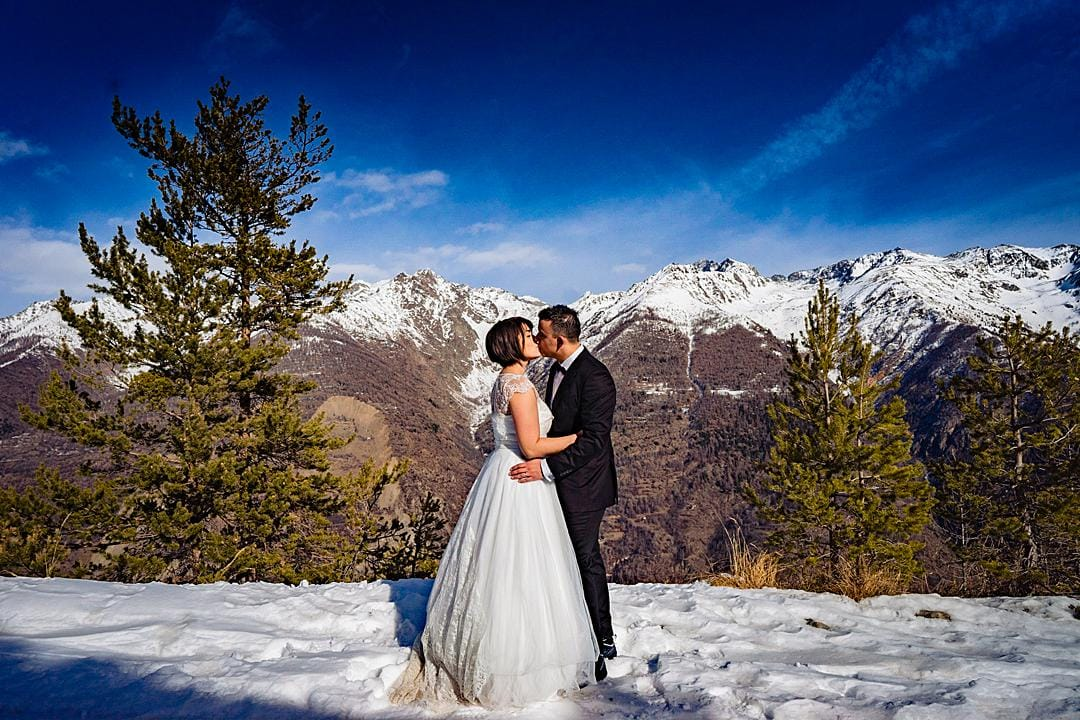 French Alps Post Wedding Photography