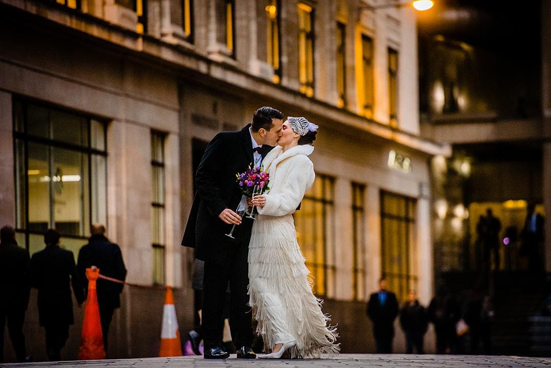 London Wedding Photographer at The Lamb Tavern