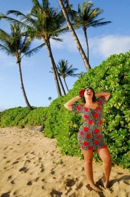 Island Girls Pin Up On Maui