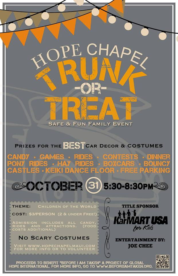 TRunck or Treat