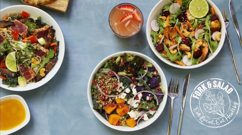 Fork and Salad Maui