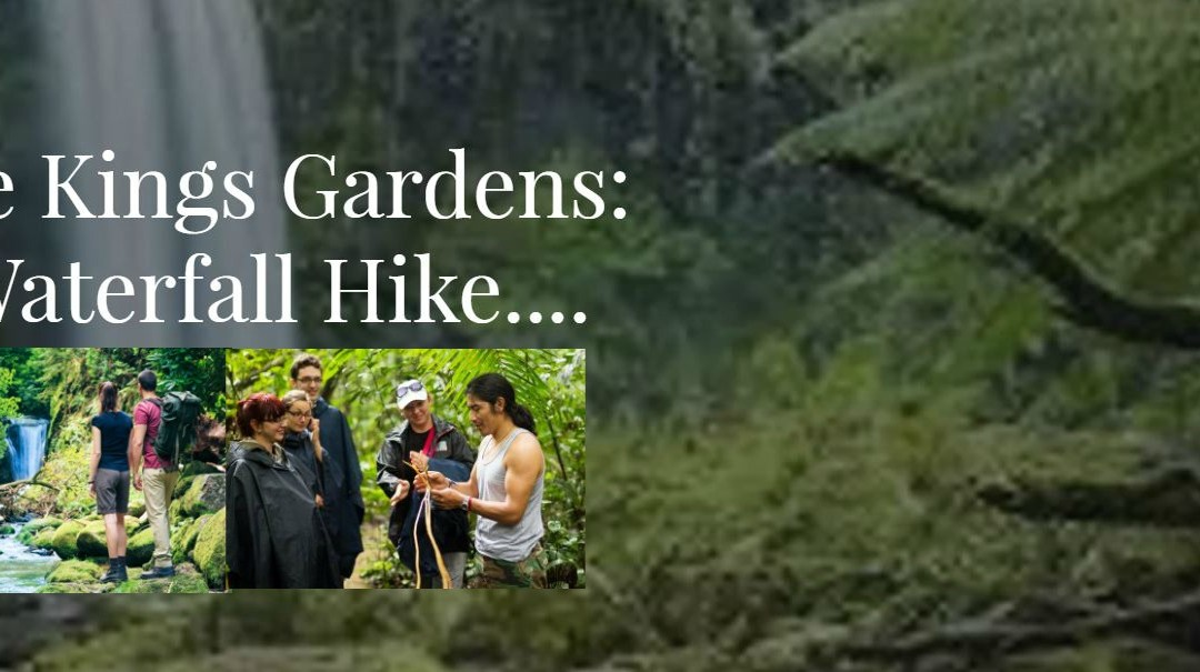 Invitation to Visit The Kings Gardens on Maui