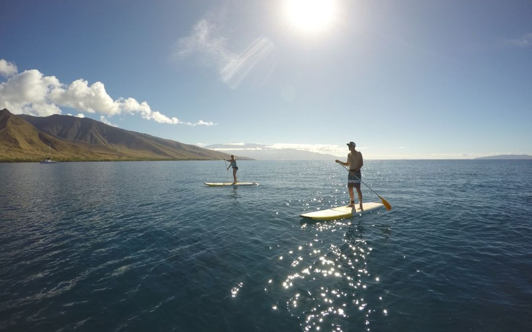 Learn Stand Up Paddling With Hawaiian Paddle Sports While On Maui Vacation