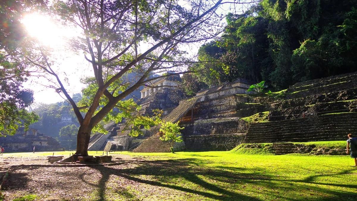 #RutaMexicana: Zona arqueológica de palenque Chiapas.