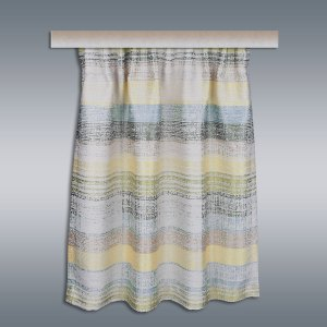 Caravan-Vorhang Liam grün-beige