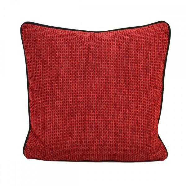 Kissen Komfort mit Füllung Rot