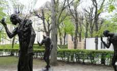 What is this group of disturbing statues in the garden of the Musee Rodin?