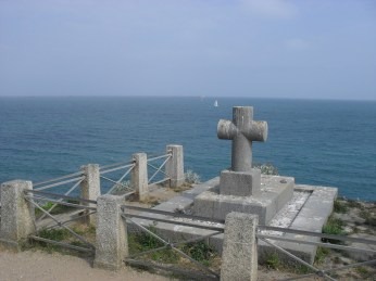 Tombe Chateaubriand at St Malo