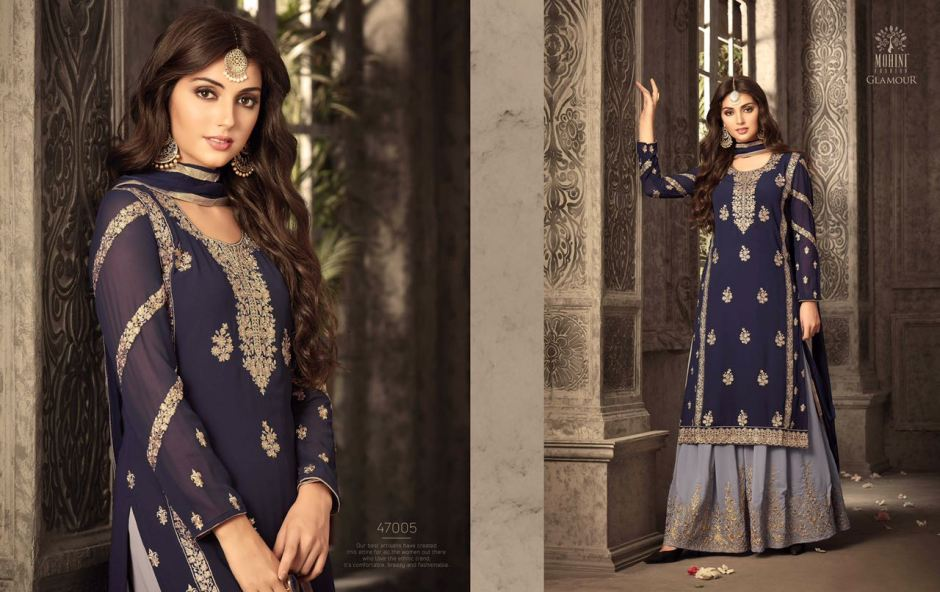 b2cef600d2 DOWNLOAD ZIP · DOWNLOAD PDF Eid Special Glamorous Sharara Collection by Mohini  at wholesale Rate