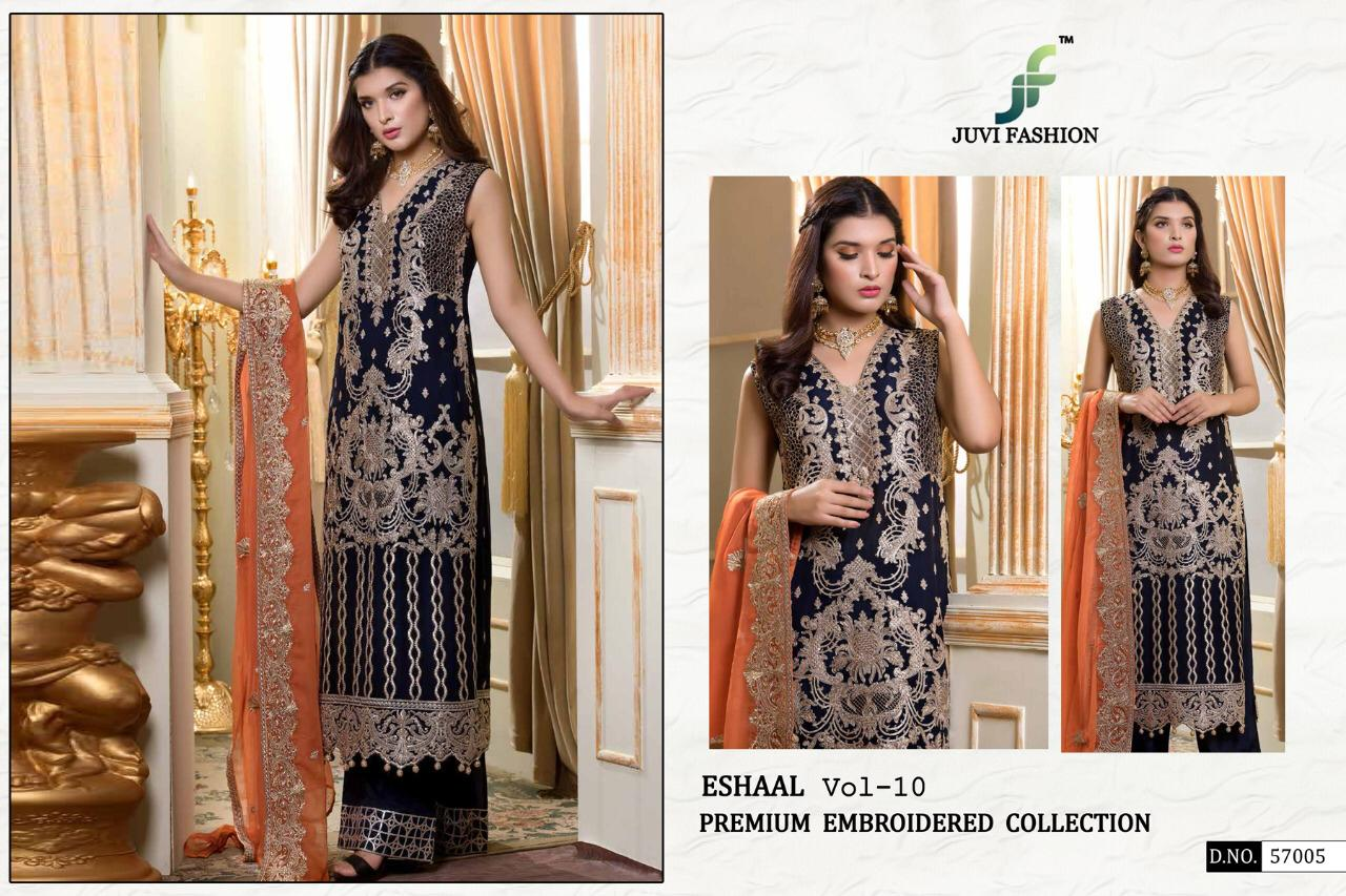 cd1a02af50 DOWNLOAD ZIP · DOWNLOAD PDF JUVI FASHION PRESENTS ESHAAL VOL 10 GEORGETTE EMBROIDERY  PAKISTANI SUIT COLLECTION
