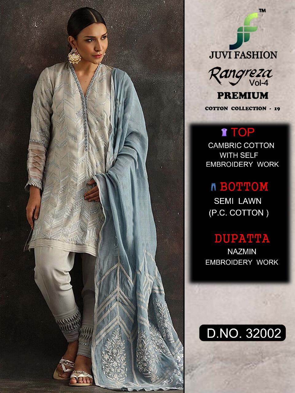 a546c8802c AMAVI EXPO RANGREZA VOL 4 BY JUVI FASHION COTTON PAKISTANI SUITS ...