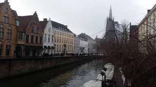 There are canals throughout Bruges - great for walking, sipping a hot chocolate or coffee, and taking in the sights.