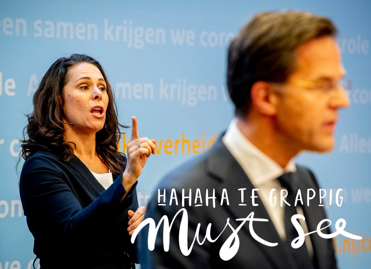 filmpje over mark rutte en irma sluis