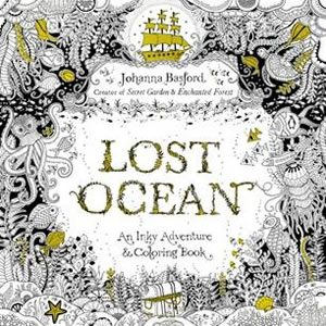 OST OCEAN, An Inky Adventure and Coloring Book