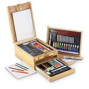 Royal and Langnickel 104-Piece All Media Easel Artist Set