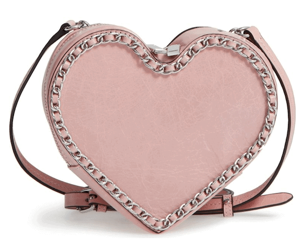 Rebecca Minkoff Chain Heart Crossbody Bag